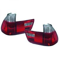 Kit de feux arrières blanc/rouge LED BMW X5 (E53) de 99 à 03