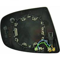 Miroir (asphérique) de rétroviseur coté gauche BMW X5 (E70) de 07 à 13 - OEM : 51167174981