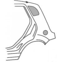 Aile arrière gauche FORD FIESTA 5 (JH, JD) de 02 à 08 - OEM : 1363655