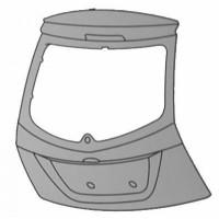 Couvercle de coffre - 5 portes FORD FIESTA 5 (JH, JD) de 02 à 08 - OEM : 1541627