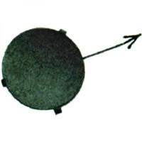 Cache crochet remorquage avant FORD FOCUS 1 de 98 à 01 - OEM : 1107426