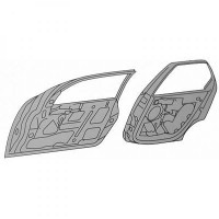 Porte, Carrosserie arrière droit FORD FOCUS 1 de 98 à 04 - OEM : 1430148