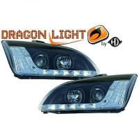 Set de deux phares principaux H1/H1 LED FORD FOCUS 2 de 04 à 08