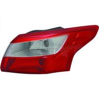Feu arrière gauche sans porte-lampe FORD FOCUS 3 de 2011 à 14 - OEM : 1792714