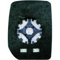 Miroir (convexe) de rétroviseur coté droit FORD TRANSIT de 00 à 12 - OEM : 4059964