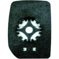 Miroir (convexe) de rétroviseur coté droit FORD TRANSIT de 00 à 12 - OEM : 4059967