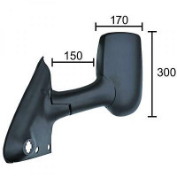 Rétroviseur extérieur droit convexe FORD TRANSIT de 00 à 13 - OEM : 4158409