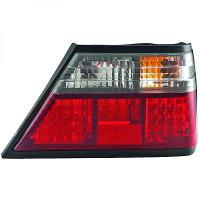 Kit de feux arrières rouge-transparent MERCEDES CLASSE E (W124) de 85 à 95