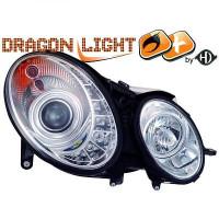 Set de deux phares principaux D2S/H7 D2S/H1 MERCEDES CLASSE E (W211) de 02 à 06
