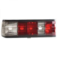Kit de feux arrières blanc/rouge vitre transparente MERCEDES CLASSE C (W201) de 82 à 93