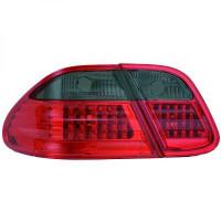 Kit de feux arrières rouge/noir LED MERCEDES CLK (C208) de 97 à 02