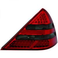Kit de feux arrières version LED rouge/noir MERCEDES SLK (R170) de 96 à 04