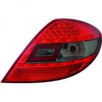 Kit de feux arrières version LED rouge/noir MERCEDES SLK (R171) de 04 à 11