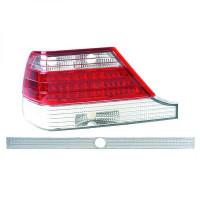 Kit de feux arrières blanc rouge MERCEDES CLASSE S (W140) de 03 à >>