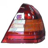Disperseur simple pour feu arrière droit sans porte-lampe MERCEDES CLASSE C (W202) de 93 à 00 - OEM : A2028200466