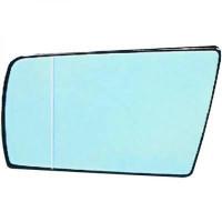 Miroir de rétroviseur coté droit (pour option dégivrant) MERCEDES CLASSE C (W202) de 93 à 02