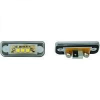 Feu éclaireur de plaque Version LED MERCEDES CLASSE C (W203) de 00 à 07