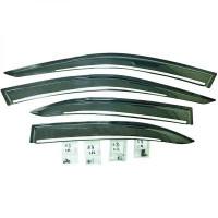 Déflecteur avec accessoires chromé MERCEDES CLASSE C (W204) de 07 à >>
