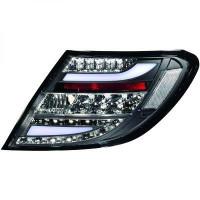Kit de feux arrières version LED teinté MERCEDES CLASSE C (W204) de 2011 à >>