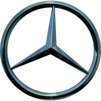 Emblème logo MERCEDES CLASSE ML (W163) de 98 à 05 - OEM : 1638880086