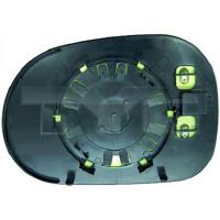 Miroir de rétroviseur coté droit (pour option dégivrant) MERCEDES CLASSE ML (W163) de 98 à 01 - OEM : 1638102019