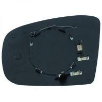 Miroir de rétroviseur coté gauche (dégivrant) MERCEDES CLASSE ML (W163) de 01 à 05 - OEM : MA1638102719
