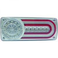 Kit de feux arrières version LED chrome MERCEDES CLASSE G (W463) de 86 à >>