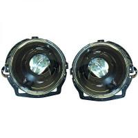 Set de deux phares principaux H7/H7 noir MERCEDES CLASSE G (W463) de 89 à >