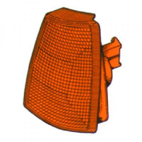 Feu clignotant gauche orange OPEL KADETT E de 84 à 91 - OEM : 1226040