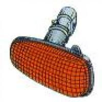 Feu clignotant latéral orange OPEL ASTRA G de 98 à >> - OEM : 1713011