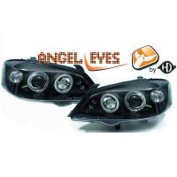 Set de deux phares principaux H1/H1 noir OPEL ASTRA G de 97 à 4