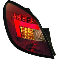 Kit de feux arrières teinté rouge OPEL CORSA D de 06 à 14