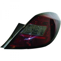 Kit de feux arrières rouge/noir OPEL CORSA D de 06 à 14
