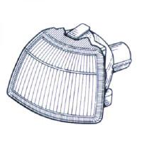 Feu clignotant droit blanc OPEL VECTRA A de 92 à 95 - OEM : 1226148