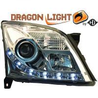 Set de deux phares principaux H7/ H1 OPEL VECTRA C de 02 à 05