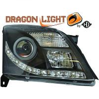 Set de deux phares principaux H7/ H1 LED OPEL VECTRA C de 02 à 05