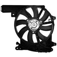 Ventilateur refroidissement du moteur sans climatisation OPEL MERIVA de 03 à 06 - OEM : 1341382