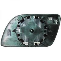 Miroir (asphérique) de rétroviseur coté gauche VOLKSWAGEN POLO (9N, 9A4) de 01 à 05 - OEM : 6Q0857521A