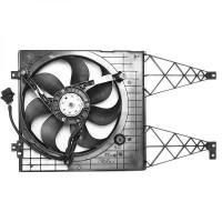 Ventilateur refroidissement du moteur avec climatisation VOLKSWAGEN GOLF 4 de 97 à 03 - OEM : 6X0959455F+1J0121205B