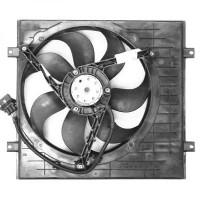 Ventilateur refroidissement du moteur avec climatisation VOLKSWAGEN GOLF 4 de 97 à 03 - OEM : 6X0959455F+1J0121207T