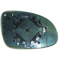 Miroir de rétroviseur coté droit (pour option dégivrant) VOLKSWAGEN GOLF 5 de 05 à 09 - OEM : 5M0857522F