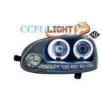 Set de deux phares principaux H1/H1 avec correcteur VOLKSWAGEN GOLF 5 de 03 à 08