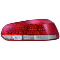 Kit de feux arrières version LED rouge VOLKSWAGEN GOLF 6 de 08 à 12