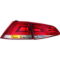 Kit de feux arrières version LED chrome VOLKSWAGEN GOLF 7 de 2012 à >>
