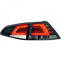 Kit de feux arrières version LED teinté VOLKSWAGEN GOLF 7 de 2012 à >