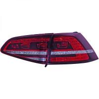 Kit de feux arrières version LED rouge VOLKSWAGEN GOLF 7 de 2012 à >>