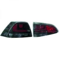 Kit de feux arrières teinté rouge VOLKSWAGEN GOLF 7 de 2013 à >>