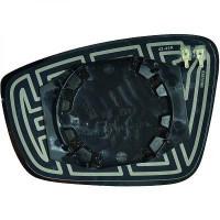 Miroir de rétroviseur coté droit (pour option dégivrant) VOLKSWAGEN UP de 2011 à >> - OEM : 6RU857522F