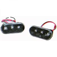 Feu clignotant LED gauche / droit noir VOLKSWAGEN