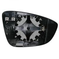 Miroir (asphérique) de rétroviseur coté gauche VOLKSWAGEN SCIROCCO de 08 à 14 - OEM : 3C8857521